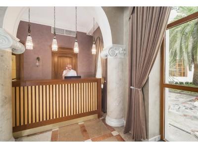 Ресепшен| Парк-отель «Амра| Amra Park Hotel & SPA» | Абхазия, Гагра