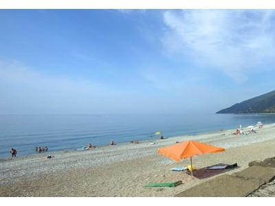 Пляж| Парк-отель «Амра| Amra Park Hotel & SPA» | Абхазия, Гагра