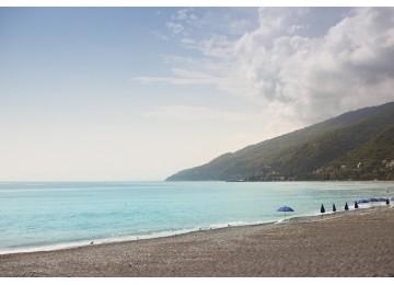 Собственный пляж| Парк-отель «Амра| Amra Park Hotel & SPA» | Абхазия, Гагра