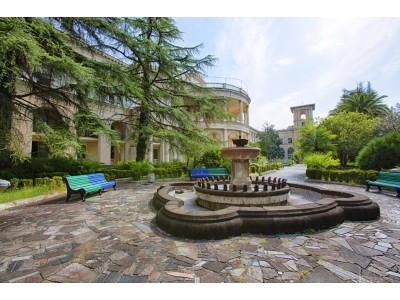Территория| Парк-отель «Амра| Amra Park Hotel & SPA» | Абхазия, Гагра